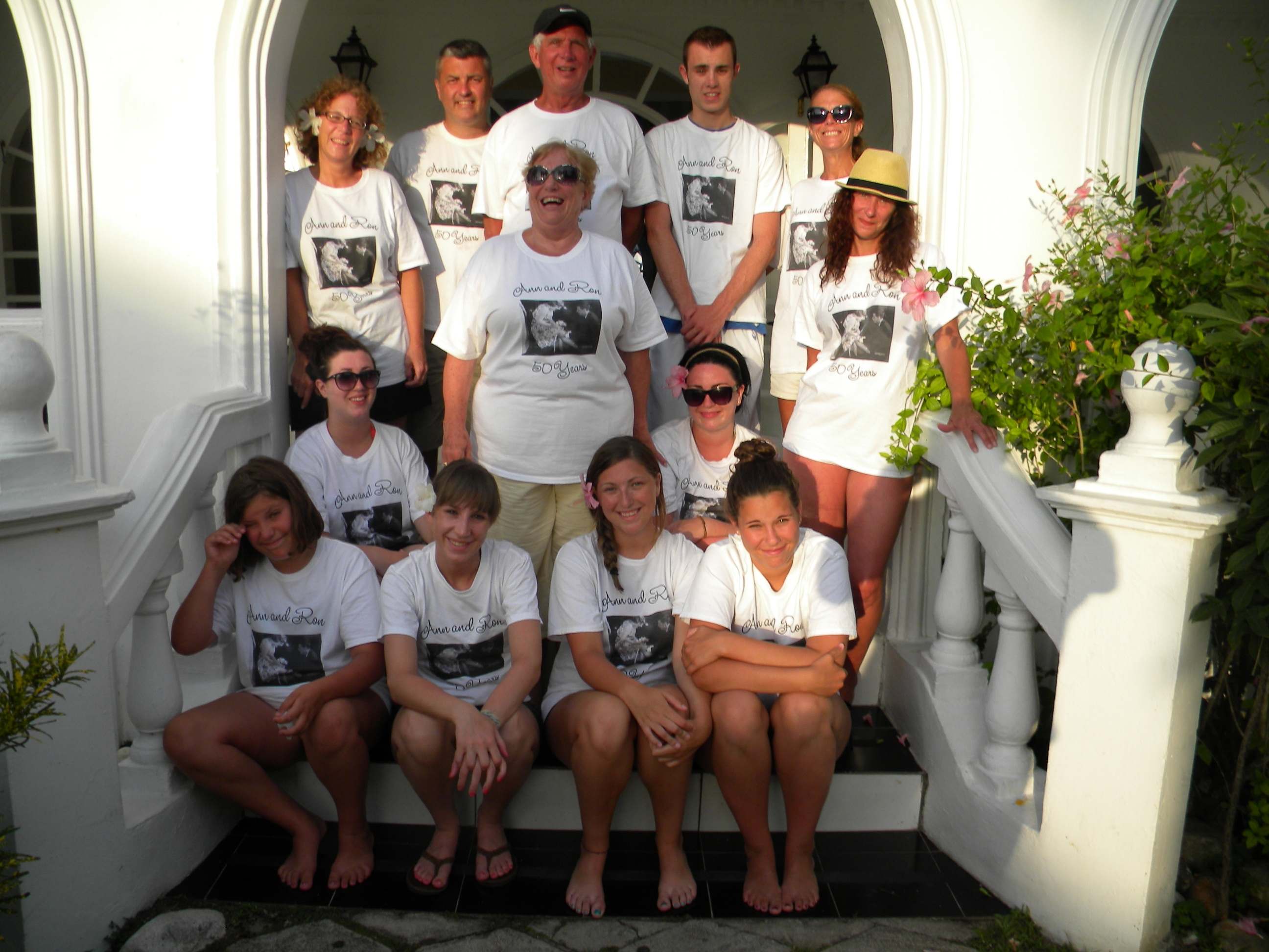 Happy 50th Wedding Anniversary T Shirt Photo