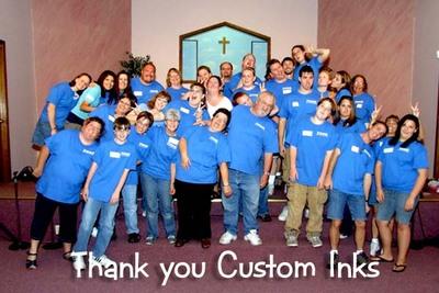 Volenteers For Vacation Bible School T-Shirt Photo