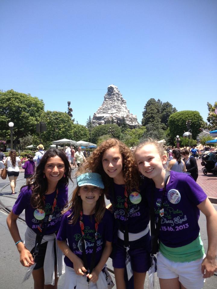 Disneyland Birthday Party T-Shirt Photo