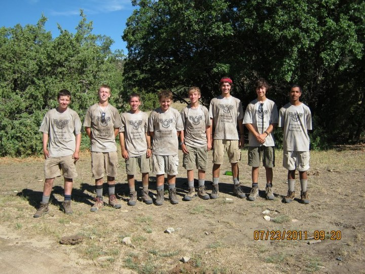 Eagle Warriors   Philmont Crew T-Shirt Photo