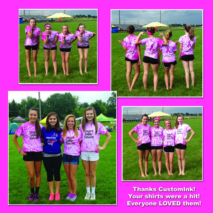 Relay For Life Team Saige's Sassy Sister's  T-Shirt Photo