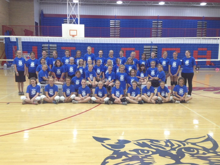 Volleyball Youth Camp T-Shirt Photo
