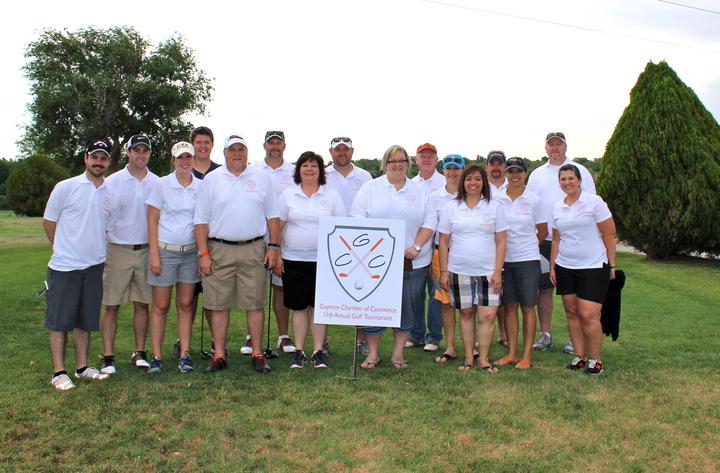 Guymon Chamber Golf Tournament T-Shirt Photo