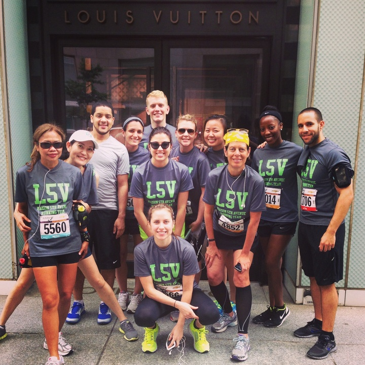 Lv Running Team T-Shirt Photo