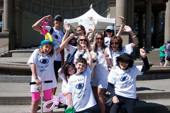 Team You See Sf At Bay Area Vision Walk 2013 T-Shirt Photo