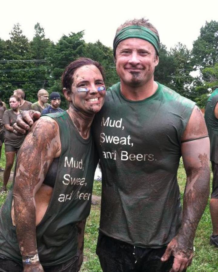 Mud, Sweat, And Beers  T-Shirt Photo