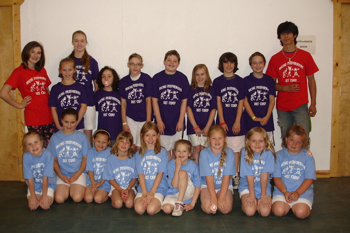 Young Performers Day Camp T-Shirt Photo