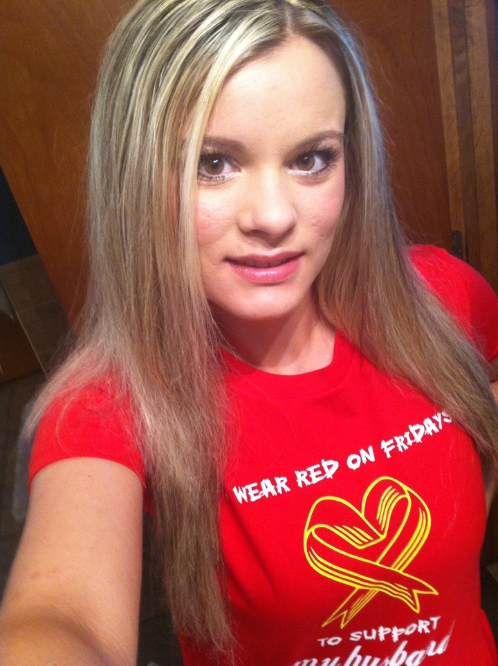 Support Our Troops Wear Red on Fridays we Will Wear Red on Fridays