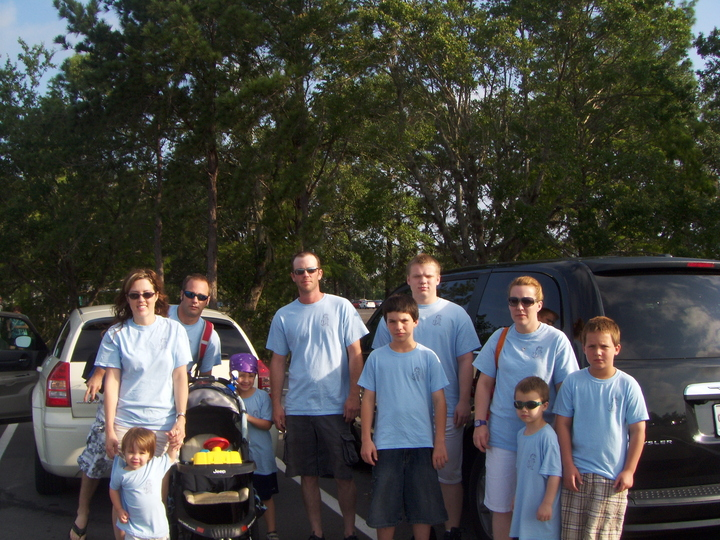 The Adams' Family Florida Vacation T-Shirt Photo