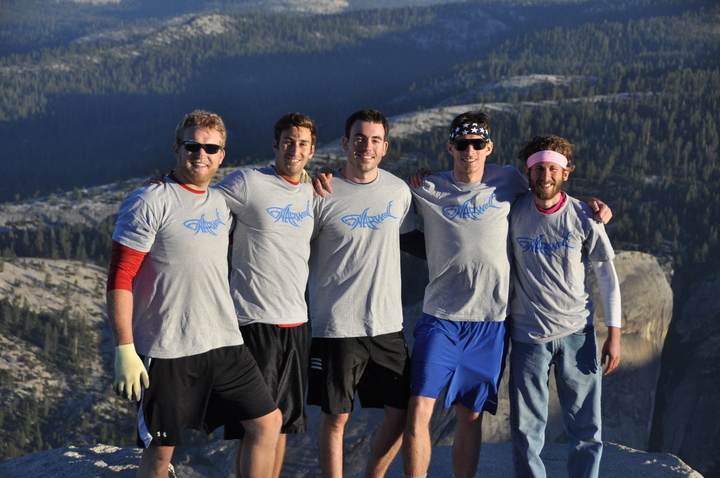 Gnar Wolves On Half Dome T-Shirt Photo