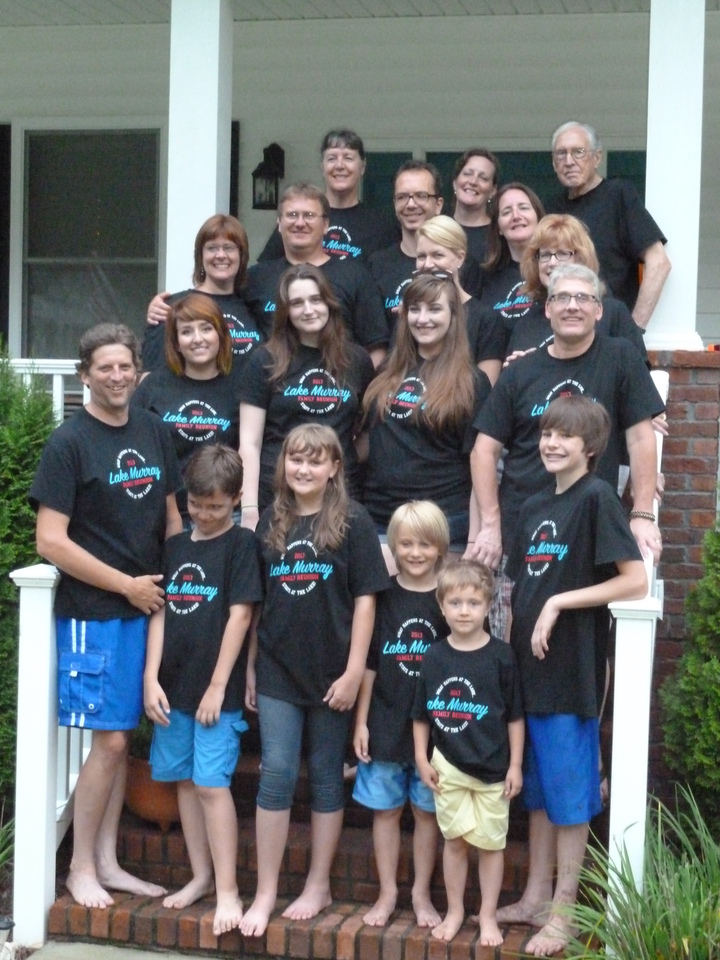 Family Reunion 2013 T-Shirt Photo