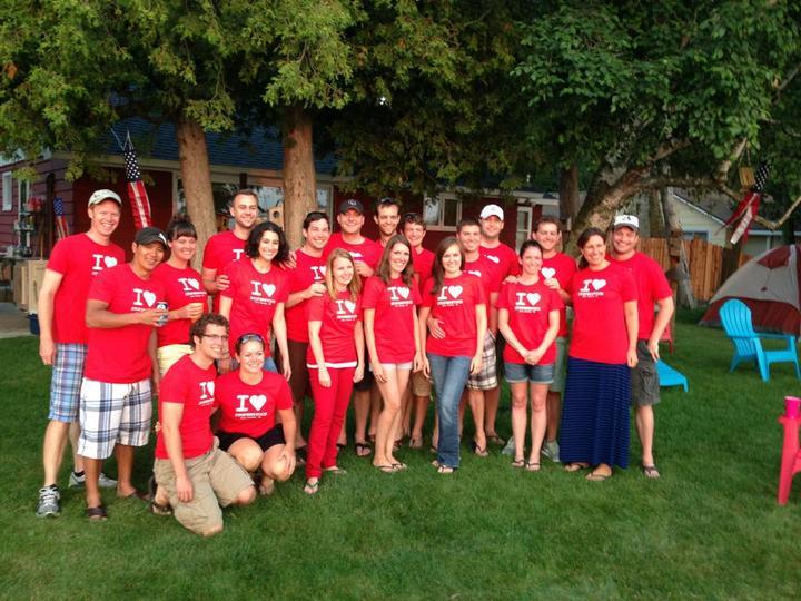 A Summer Day At The Lake T-Shirt Photo