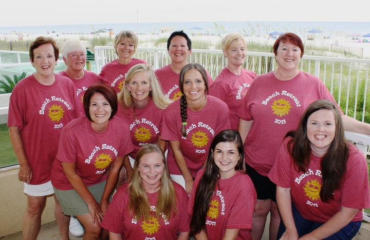 Beach Retreat Beauties T-Shirt Photo