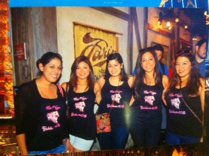 Vegas Bachelorette T-Shirt Photo