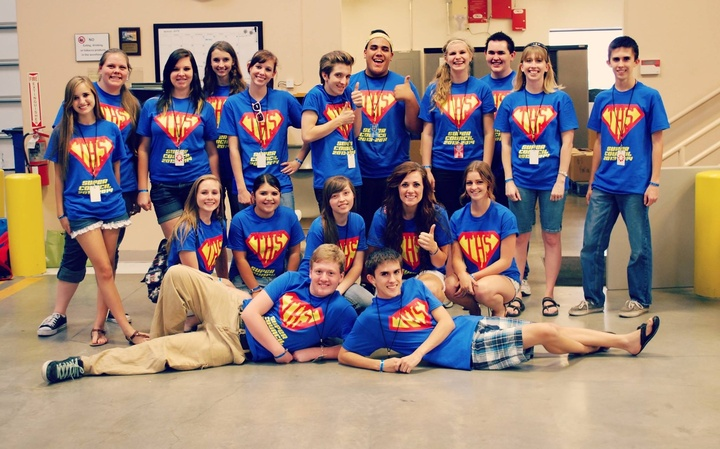 Leadership Camp Super Service T-Shirt Photo