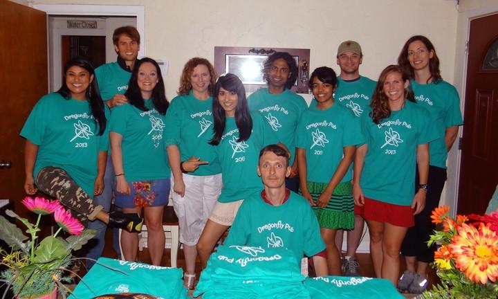 Dragonfly Pub Patrons T-Shirt Photo