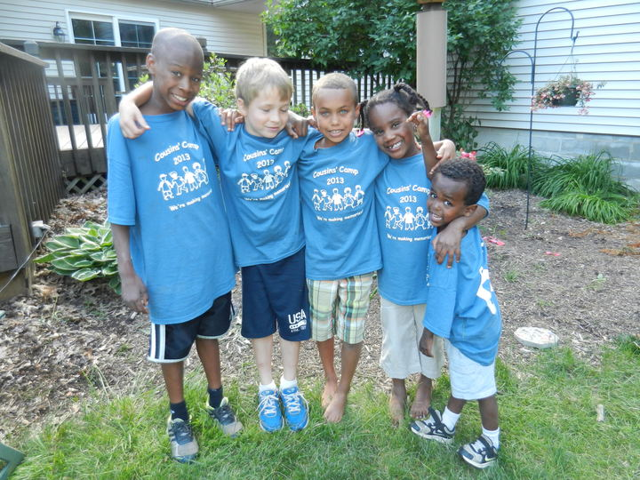 Cousins' Camp 2013 T-Shirt Photo