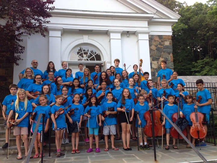 Brook Side String Orchestra T-Shirt Photo