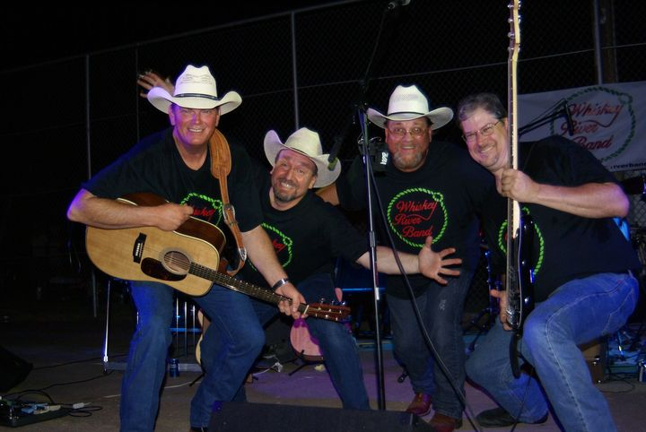 The Band Having Fun In Their New Shirts! T-Shirt Photo