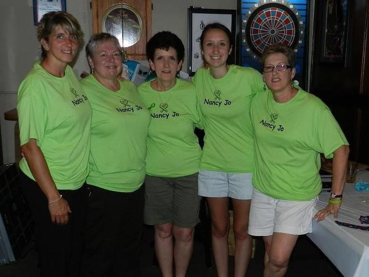 We Love Nancy Jo.  T-Shirt Photo