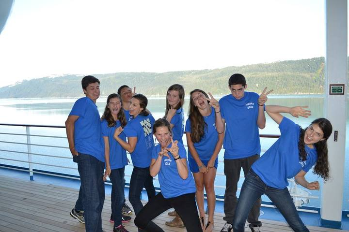 9 Cousins, 1 Boat T-Shirt Photo