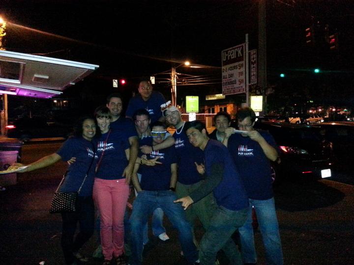 Pub Crawl Party!  T-Shirt Photo