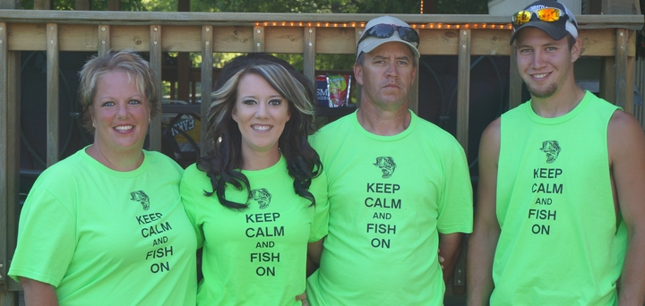 Van Hook Fishing Derby T-Shirt Photo