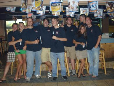 Seaside Bar Crawl T-Shirt Photo