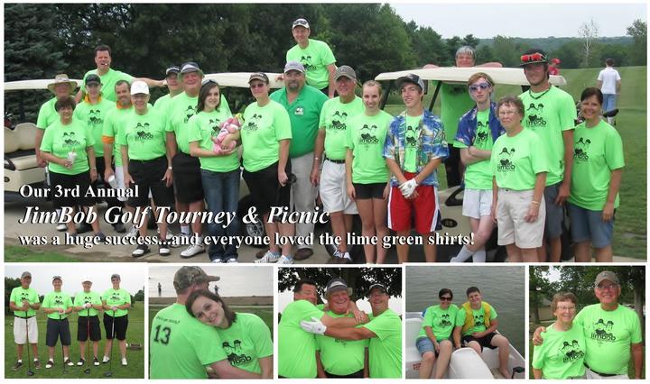 Jim Bob Golf Tourney & Picnic T-Shirt Photo