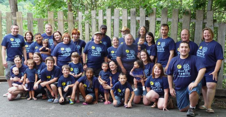 The Moon Family Reunion T-Shirt Photo