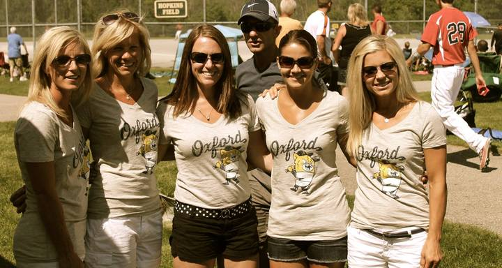 Oxford Wildcats Baseball Moms T-Shirt Photo