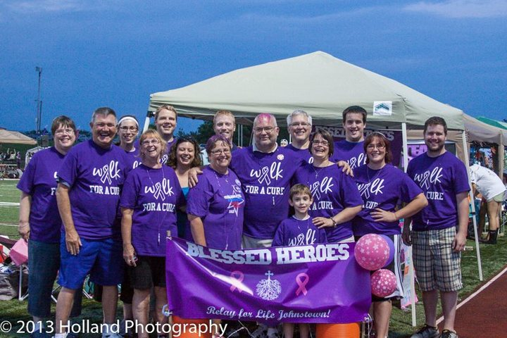 Team Blessed Heroes T-Shirt Photo
