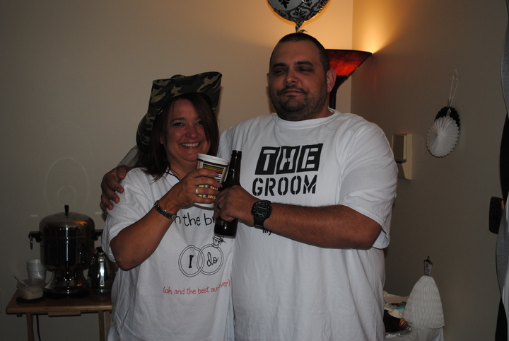 My Aunt And Uncle To Be Enjoying Their New Shirts T-Shirt Photo
