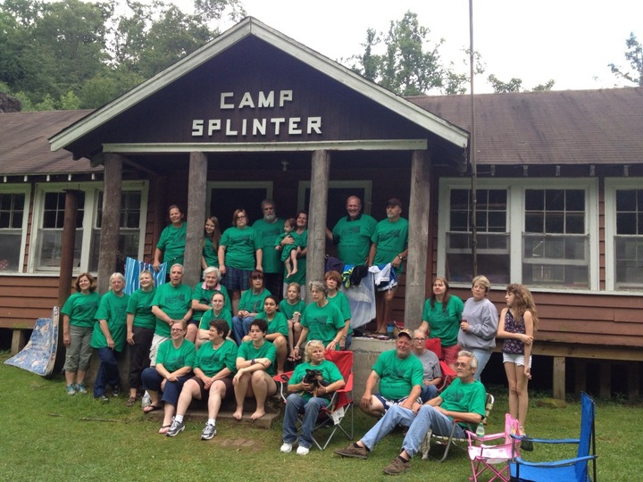 Camp Splinter Survivors  T-Shirt Photo