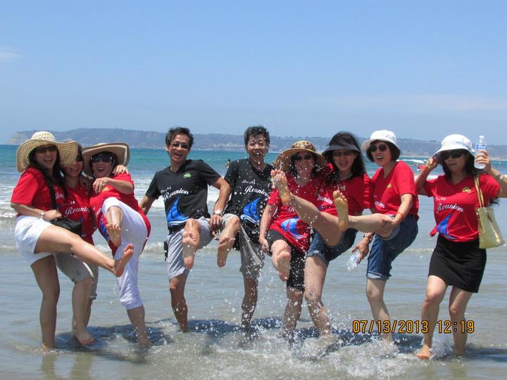 San Diego Beach Reunion T-Shirt Photo