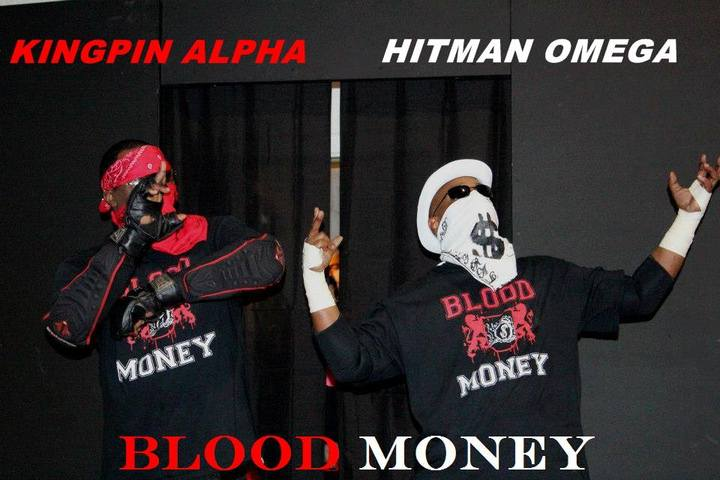 Blood Money Salute T-Shirt Photo