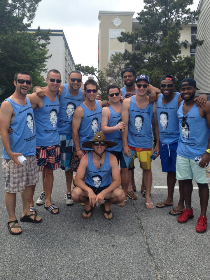 The Goose Was Loose Bachelor Party T-Shirt Photo