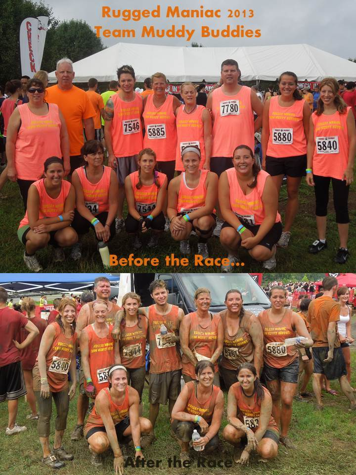 Team Muddy Buddies T-Shirt Photo