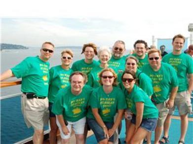 Dautenhahn Extended Family Alaskan Cruise T-Shirt Photo