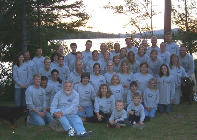 Family Camping Trip T-Shirt Photo