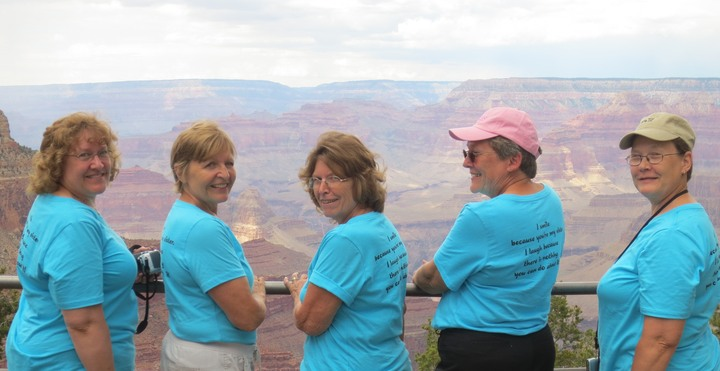 Sisters In Blue T-Shirt Photo