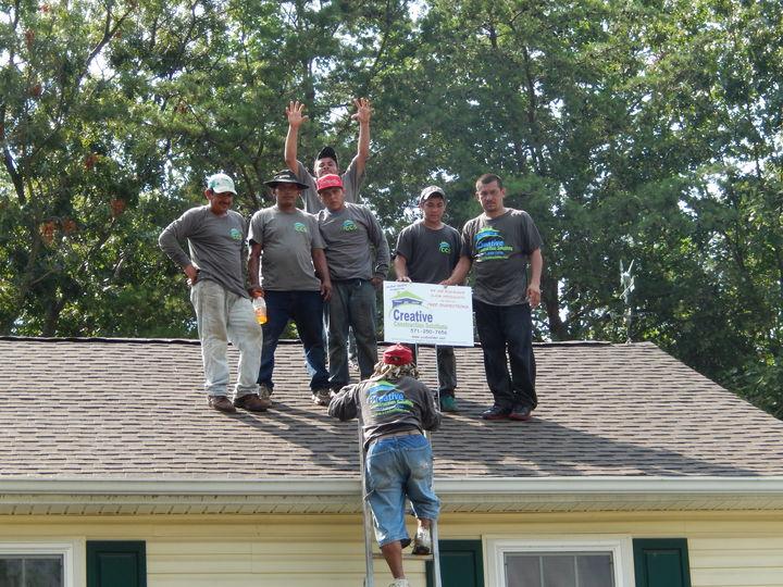New Roof, New Shirts! T-Shirt Photo