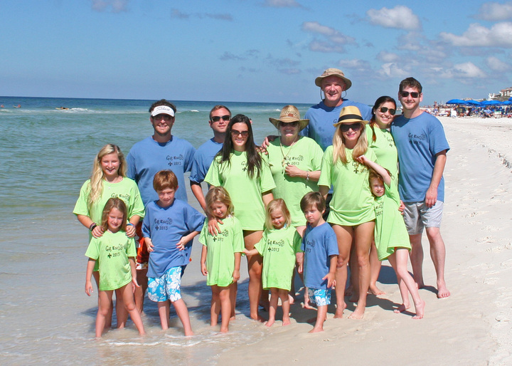 Family Beach Vacation T Shirt Design Ideas Custom Family