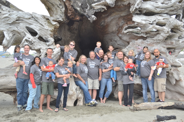 La Push 2013: 20 Years From The Original 8 To 24 Family Members T-Shirt Photo