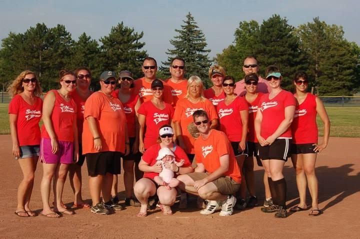 Goodfellas Softball Team T-Shirt Photo