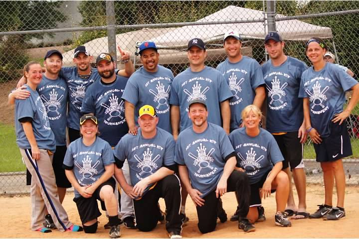 1st Annual Rtp Softball Tournament Chanmpions  T-Shirt Photo
