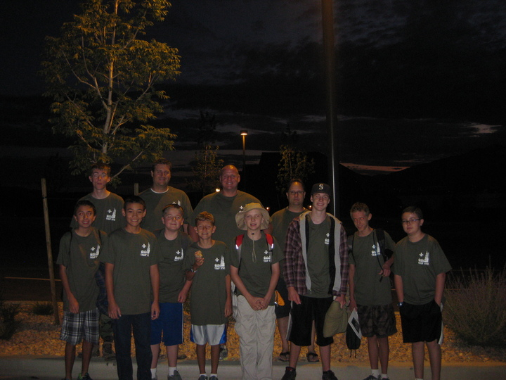 4:30am.......Ready To Leave For Scout Camp!! T-Shirt Photo