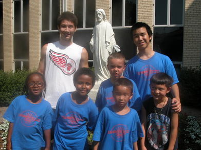Christ Lutheran Church Summer Kicks T-Shirt Photo