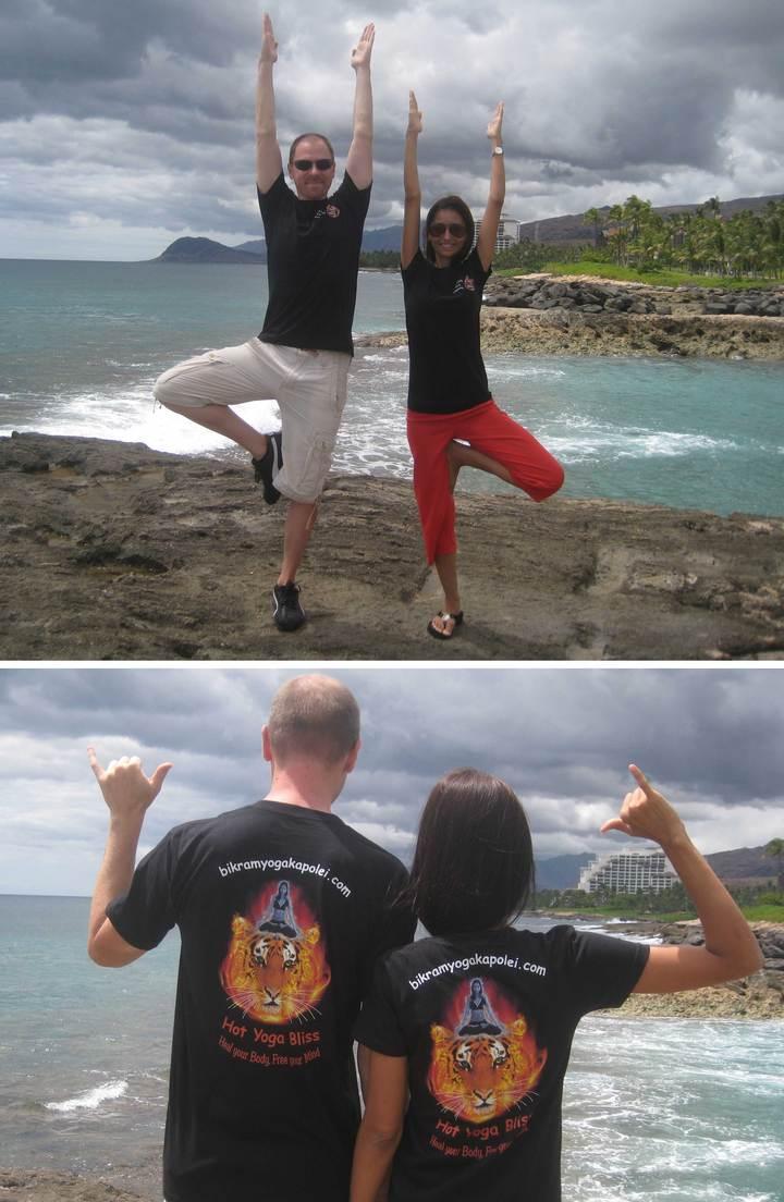 Bikram Yoga Kapolei, Hawaii T-Shirt Photo