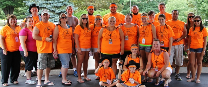 "This Is Our Official Kenny Chesney ""Kenny Clan"" Every Year. There's Usually 26 30 Of Us Each Year! We Have A Blast And Our Shirts Rock Every Year Thanks To Custom Ink! T-Shirt Photo"